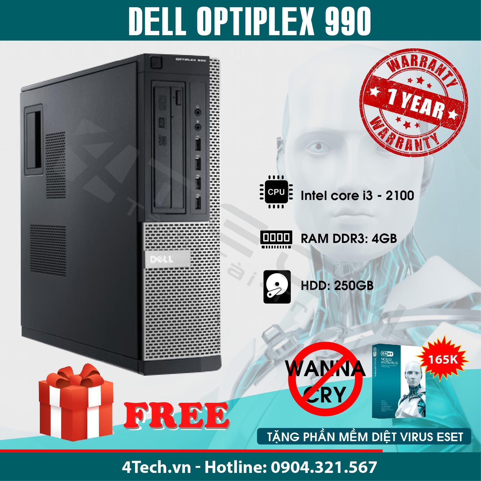 Đồng Bộ Dell Optiplex 990 corei3 – Hàng Nhập Khẩu