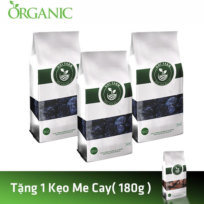 Combo 3 kẹo Dâu Tằm – Nhi Farm (180gx3) + Tặng 1 Kẹo Me Cay – Nhi Farm (180g)