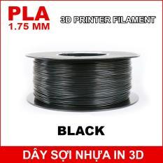 Dây sợi nhựa PLA in 3D 1.75mm 1Kg Black