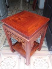 đôn gỗ hương kích thước cao 50×32 mặt vuông