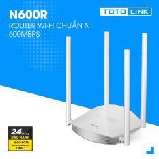 Router WiFi chuẩn N 600Mpbs – N600R – TOTOLINK