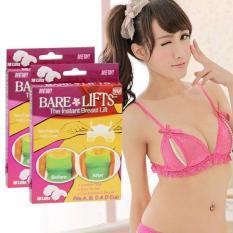Hôp 10 miếng dán nâng ngực Bare Lift trong suốt