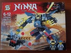 Bộ Lego ghép hình Ninjago kiếm sỹ sấm sét Gồm 192 Chi Tiết SY976B