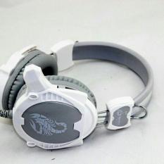 Tai nghe chụp tai game thủ H6 có mic thoại [ dùng tốt cho điện thoại lẫn PC ]