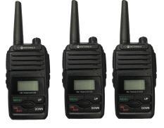 Bộ 3 bộ đàm Motorola GP6660+Tặng Nón lưỡi trai SoYoung MU BBP1 Đen (Áp dụng trên 1 Đơn hàng/KH)-BN2