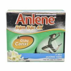 Bộ 6 lốc sữa pha sẵn Anlene 4X đậm đặc (4 hộp x125ml/lốc)