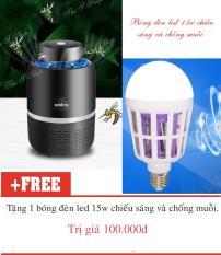 [KHUYẾN MẠI] Máy bắt muỗi và diệt côn trùng tia UV Eddrac(Hàng chất lượng cao KHÔNG Giá Rẻ)