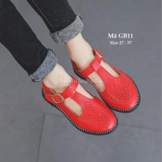Giày Búp Bê Kiểu Oxford Cho Bé Gái Phong Cách Và Cá Tính GB11