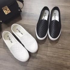 [ VIDEO ] Giày Slip-On Vải Cotton Mềm Mịn Có Size Nam Và Nữ 3Fashion Shop – 2737
