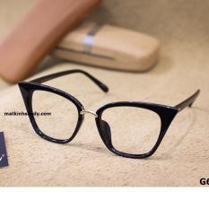Gọng kính mắt mèo Shady G630 (Đen)