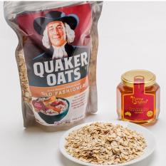 Yến mạch nguyên hạt cán dẹt Quaker Oats (500g) Date 2019-03-08