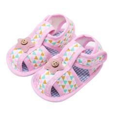 Giày sandal tập đi chống trượt êm chân 3 Size cho bé