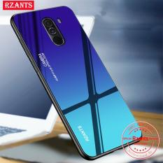 So sánh giá Rzants For Xiaomi PocoPhone F1 Case【Gradient】Hybrid Protective Tempered Glass Ultra-thin light Back Hard Phone Casing Tại rancan21