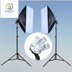 Bộ đèn chụp sản phẩm studio lấy sáng gồm 4 đèn 2019