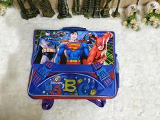 Cặp Học Sinh Tiểu Học Hoạt Hình F4 – HSC13 – Superman (35x34cm)