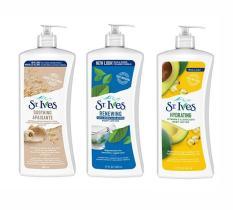 Sữa dưỡng ẩm toàn thân chống lão hóa St.Ives Daily Hydrating Vitamin E Body Lotion 621ml