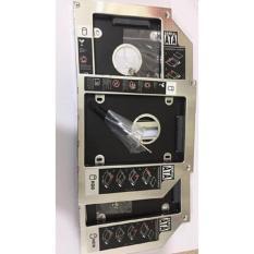 Caddy Bay ASUS X450C X550 X550V K555LD K455LD chuẩn SATA 9.5mm khay lắp ổ cứng Hàng nhôm cao cấp tặng tua vít và ốc vít