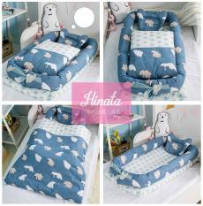 Giường nệm cho trẻ (N02 – kèm chăn) – thương hiệu Hinata Nhật Bản, sản phẩm với thiết kế đáng yêu cho giấc ngủ của trẻ được sâu hơn
