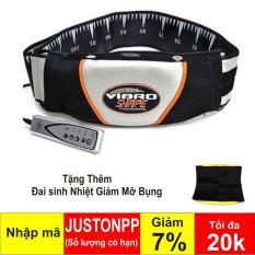 Đai massage nóng và rung Vibro Shape (Đen) + Đai sinh nhiệt giảm mỡ bụng