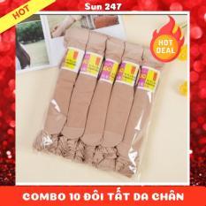 Combo 10 Đôi Tất Da Chân Hàn Quốc TEM HỒNG (Shop còn chuyên cung cấp chăn, gối, phụ kiện nữ,…)