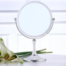 Gương Trang Điểm 2 Mặt Để Bàn Xoay 360 Độ