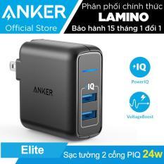 Sạc ANKER PowerPort Elite 2 cổng 24w – Hãng phân phối chính thức