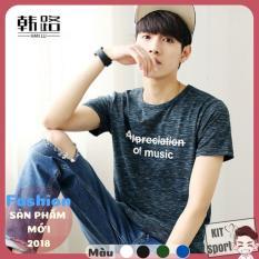 Áo nam thời trang Music (Mã 16116-1) Halun – Cửa hàng phân phối KIT Sport – Hàng nội địa Trung (Men T-Shirt,Áo thun, áo phông)