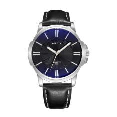 (Cập nhật 2019)Đồng hồ nam dây da thời trang cao cấp YAZOLE Q03