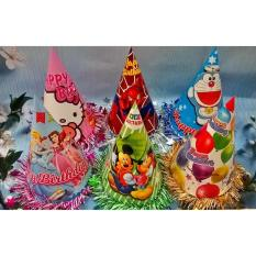 Nón tiệc sinh nhật Việt Nam nhiều mẫu viền kim tuyến – Diệp Linh