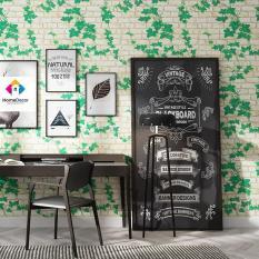 5M Giấy Dán Tường – Decal dán tường – Dây Leo Xanh – Có sẵn keo-HPMWallpaper
