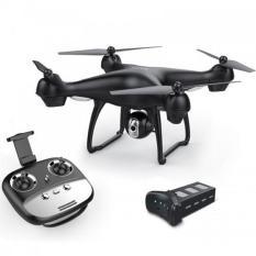 [Bộ 2 Pin] Flycam SJRC S70W new 2018 – Camera 1080P, GPS, Tự đi theo chủ, Camera điều chỉnh góc 90 độ