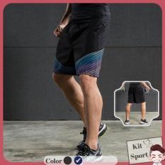 Quần đùi thể thao nam Gecko – Hiệu Vansydical – Hàng nhập khẩu (đồ tập quần áo gym, thể dục,thể hình) KIT Sport