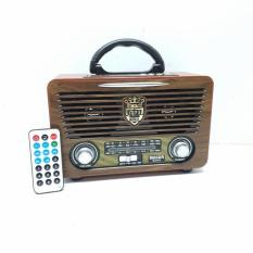 Đài Radio Pin Sạc MEEIER M – U115 FM/AM/SW/USB/SD