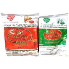 Combo 02 gói trà sữa Thái Xanh và Đỏ – Nguyên liệu làm trà sữa Thái