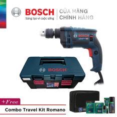 [Tặng Combo Travel Kit Romano Siêu Hot] Máy khoan động lực Bosch GSB 13 RE kèm bộ phụ kiện FREEDOM 90 chi tiết