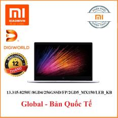 LAPTOP (NB) XIAOMI PRO 15.6 INCH/I5-8250U/8GD4/256GSSD/FP/BT4.2/4C60WHr/WIN10H/LED_KB/2GD5_MX150(GREY)