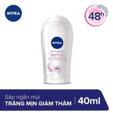 Sáp Ngăn Mùi Trắng Mịn Ngừa Vết Thâm Nivea 40ml _ 82896