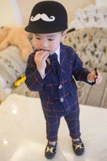 Bộ Vest bé trai Phong cách Hàn Quốc cho bé từ 8 tới 20 kg