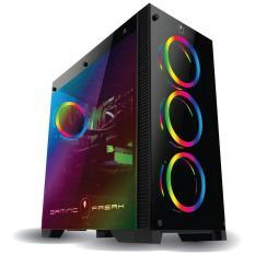 Case máy tính Gaming Led RGB Trong suốt Cực đẹp PC Gaming Freak Space Gate GFG-900G