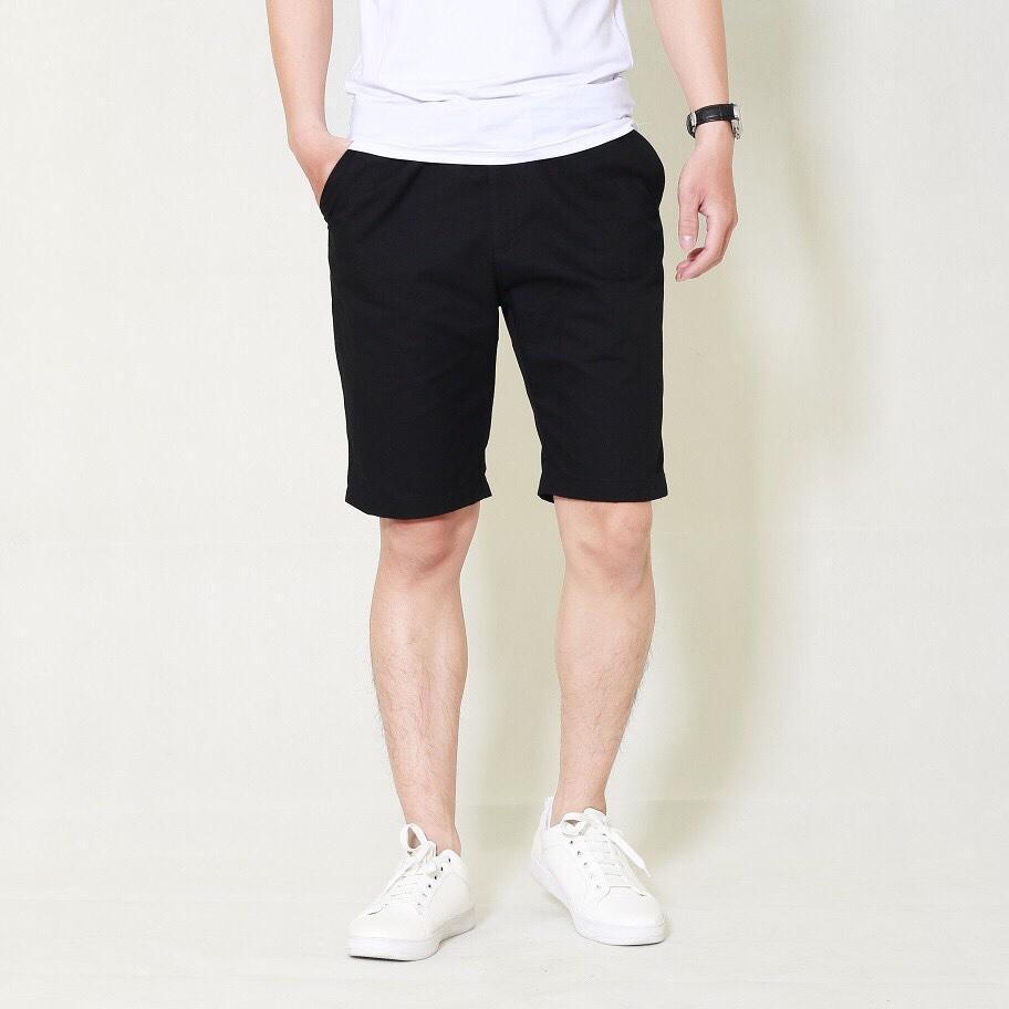 Quần short kaki chino nam hàng đẹp màu đen ( có 4 màu)