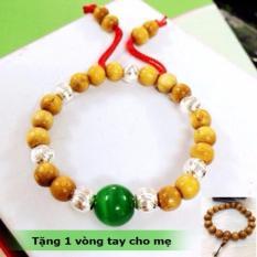Vòng Dâu Tằm 7,9 Bi Bạc Trừ Tà Cho Bé Trai, Gái + Tặng Kèm vòng tay cho mẹ