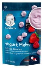Sữa chua khô Gerber Mix Berries