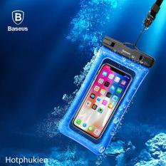 Túi chống nước chống bụi chống chìm thế hệ 2018 Hiệu Baseus cho điện thoại từ 6 inch chuẩn chống nước IPx8 cao cấp hiện nay – Phân Phối hotphukien
