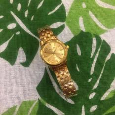 [RẺ BẤT NGỜ] Sở hữu chiếc đồng hồ cá tính với chất liệu dây thép mặt viền trơn cho phái đẹp thêm phần quyến rũ G115-BMI