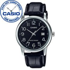 Đồng hồ nam dây da Casio Standard Anh Khuê MTP-V002L-1BUDF