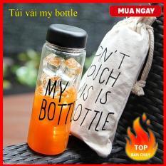 Túi vải rút dây My Bottle (Túi không kèm Bình Nước)