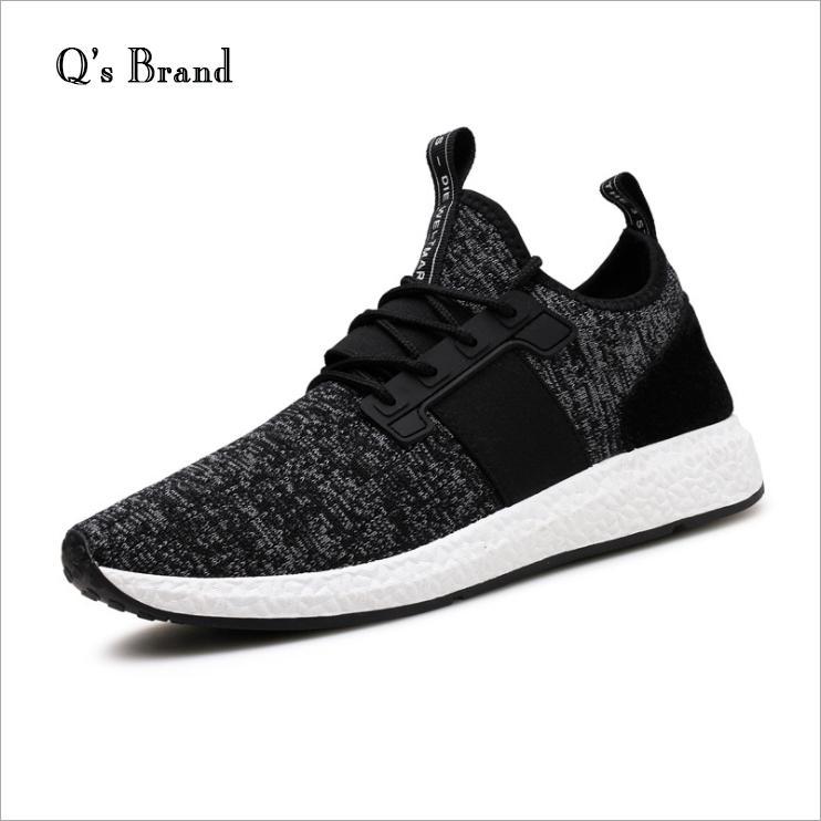 Giày Sneaker Thêu Thời Thượng QS
