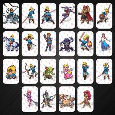 Big Family:22Pcs Legend of Zelda Breath of the Wild Amiibo NFC Card Set Link SSB Deity L4 – intl