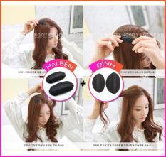 Combo 2 bộ đệm làm phồng tóc đỉnh và 2 bên – cách đơn giản để có mái tóc phồng đáng yêu