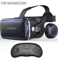 Kính Thực Tế Ảo VR Shinecon 4.0 tặng tay cầm chơi game bluetooth 3.0